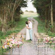 Krzesło rustykalne na wesele