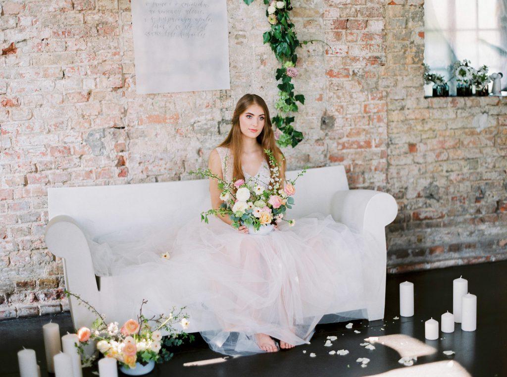 pastelowe dekoracje ślubne poznań