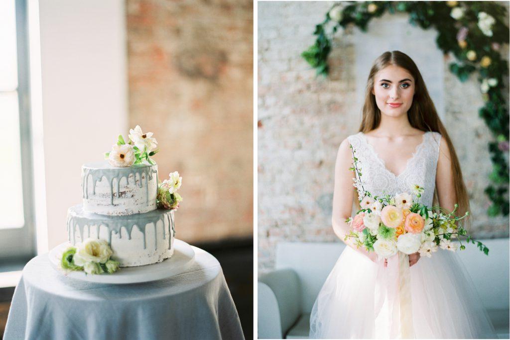 pastelowy bukiet ślubny poznań