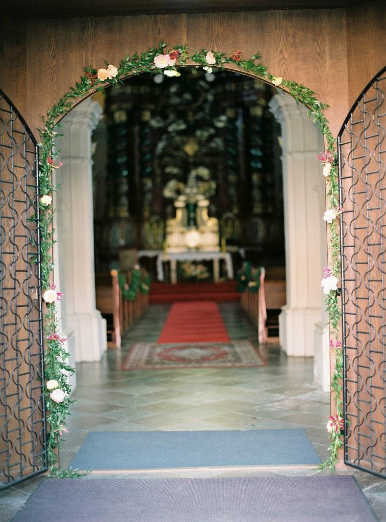 dekoracje kościoła owińska
