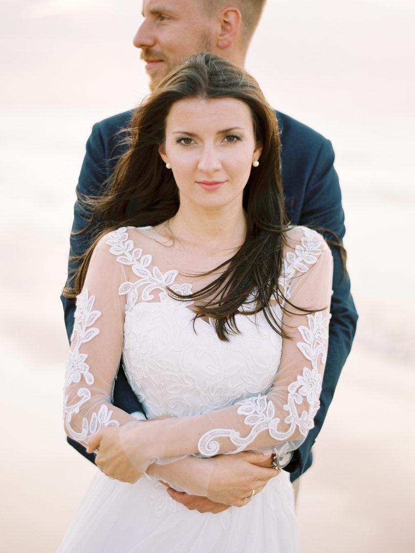 Ślub nad morzem dekoracje ślubne