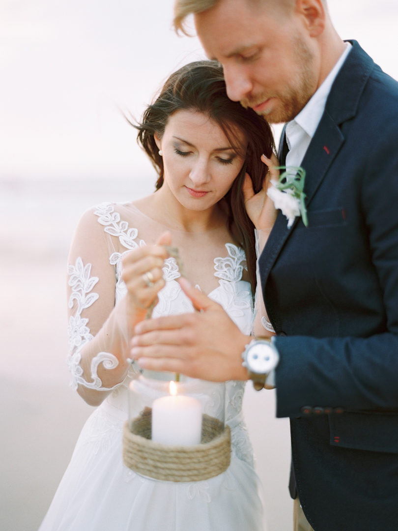 Minimal Baltic See wedding
