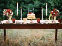 naturalne dekoracje ślubne