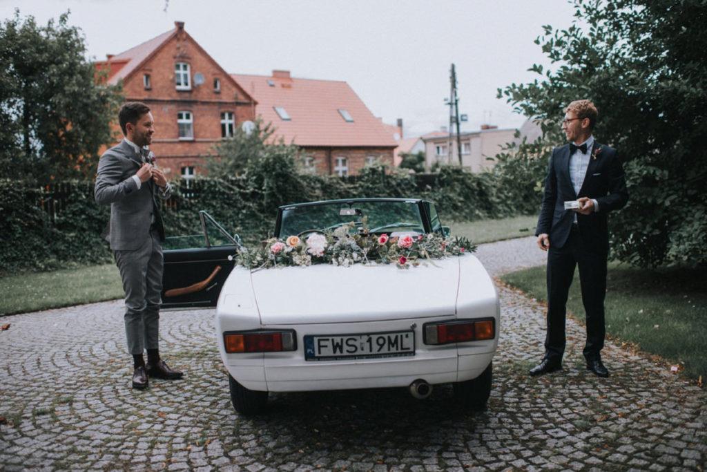 dekoracja auta folwark wąsowo