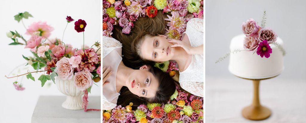 warsztaty florystyczne zimowy ślub