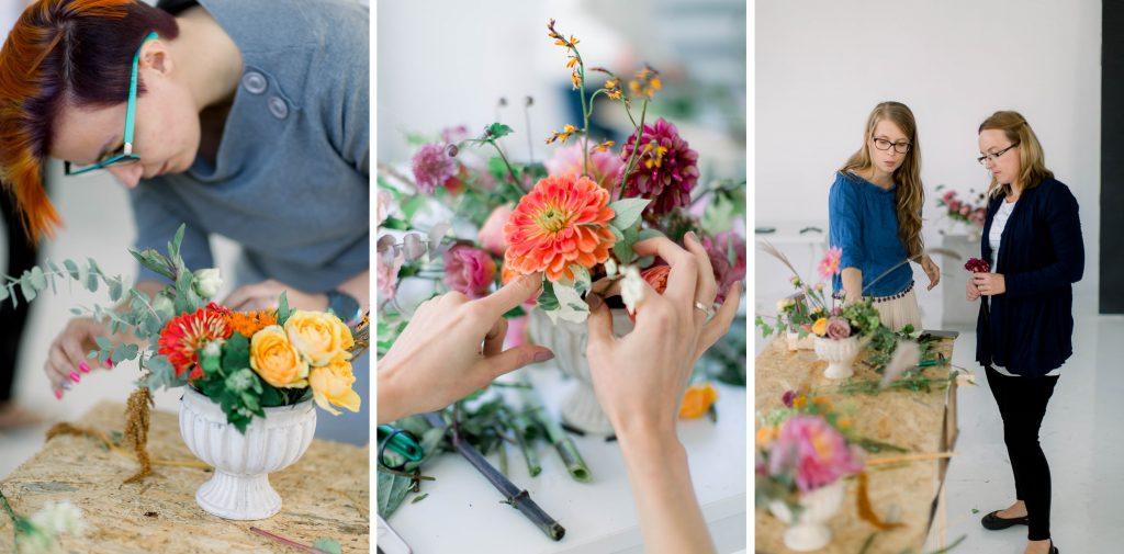 warsztaty florystyczne zimowy ślub, kurs florystyczny zimowy