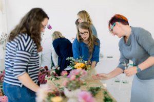 Warsztaty układania kwiatów Poznań