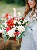 bukiet ślubny na ślub jesienią