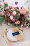 dekoracje stołów ślub jesienia