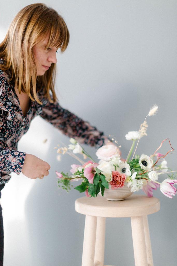 Warsztaty florystyczne, kompozycje zimowe