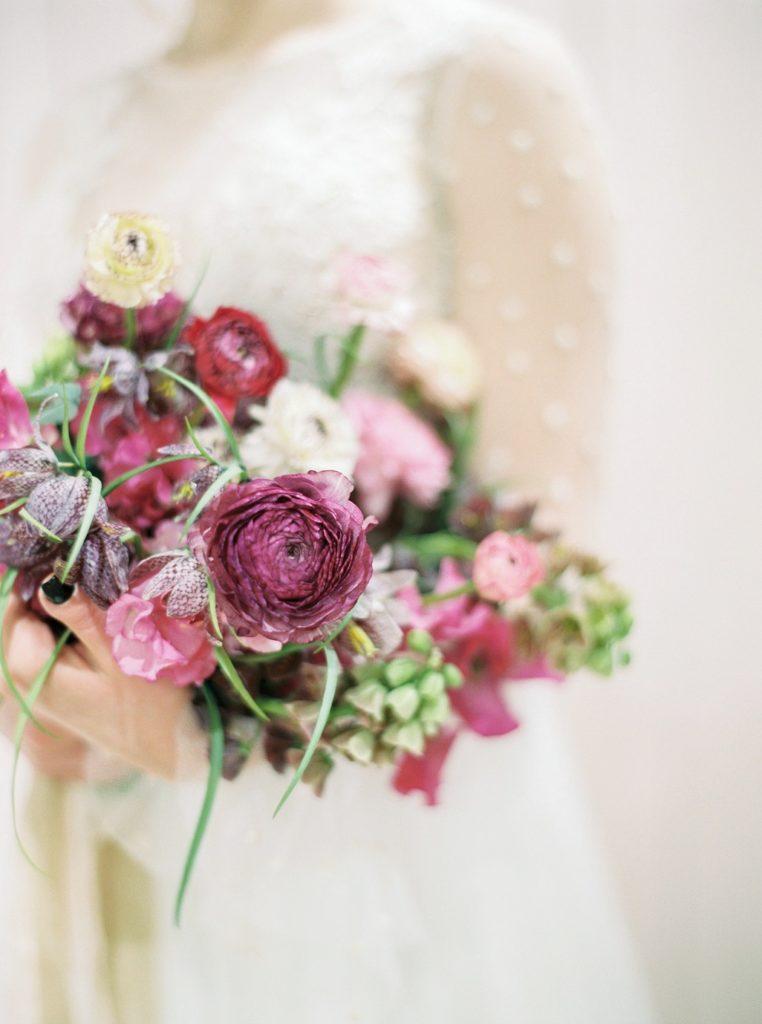 Romantyczny, ogrodowy bukiet ślubny poznań