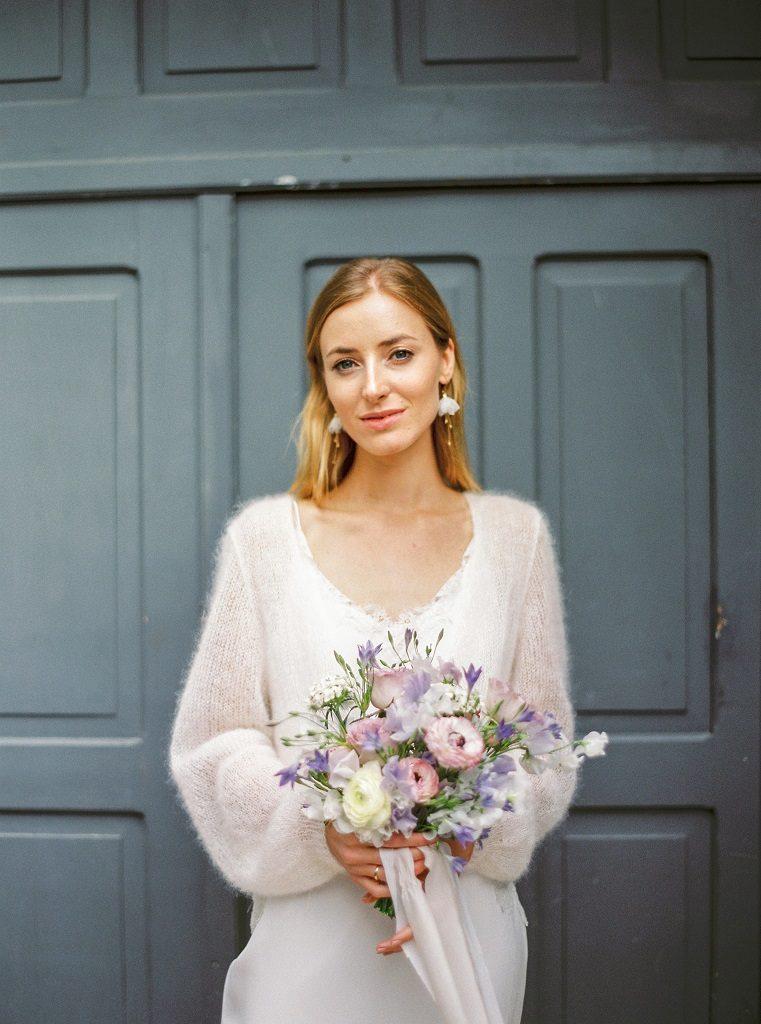 minimalistyczny bukiet ślubny poznań