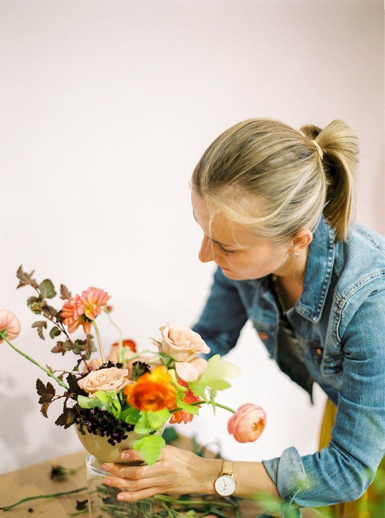 wiosenne warsztaty naturalnej florystyki ślubnej