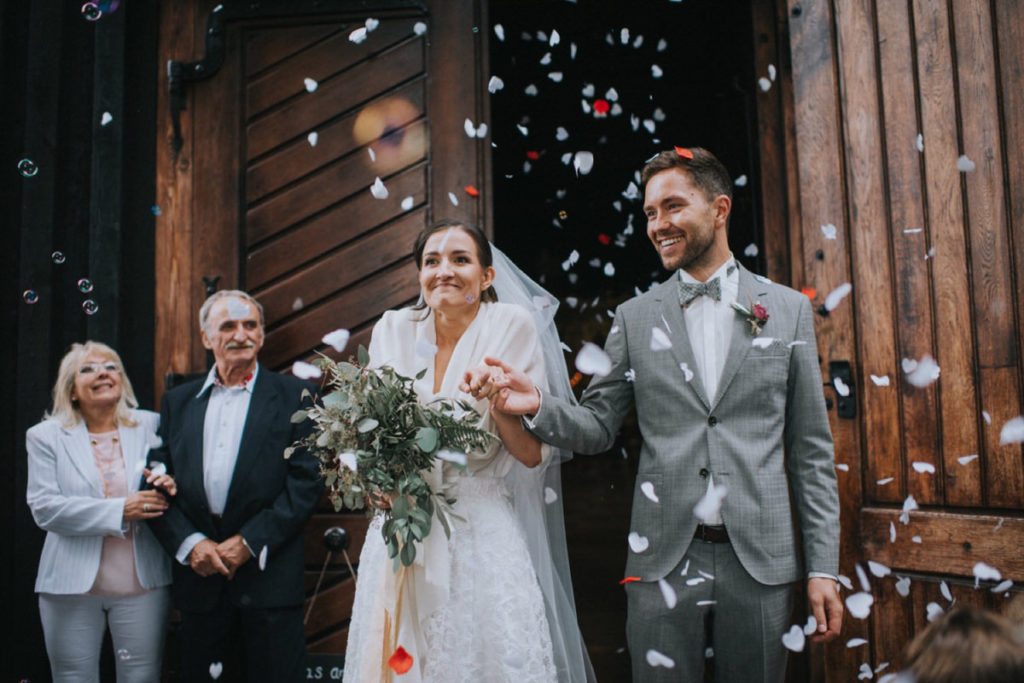 ślub w Folwarku Wąsowo, dekoracje