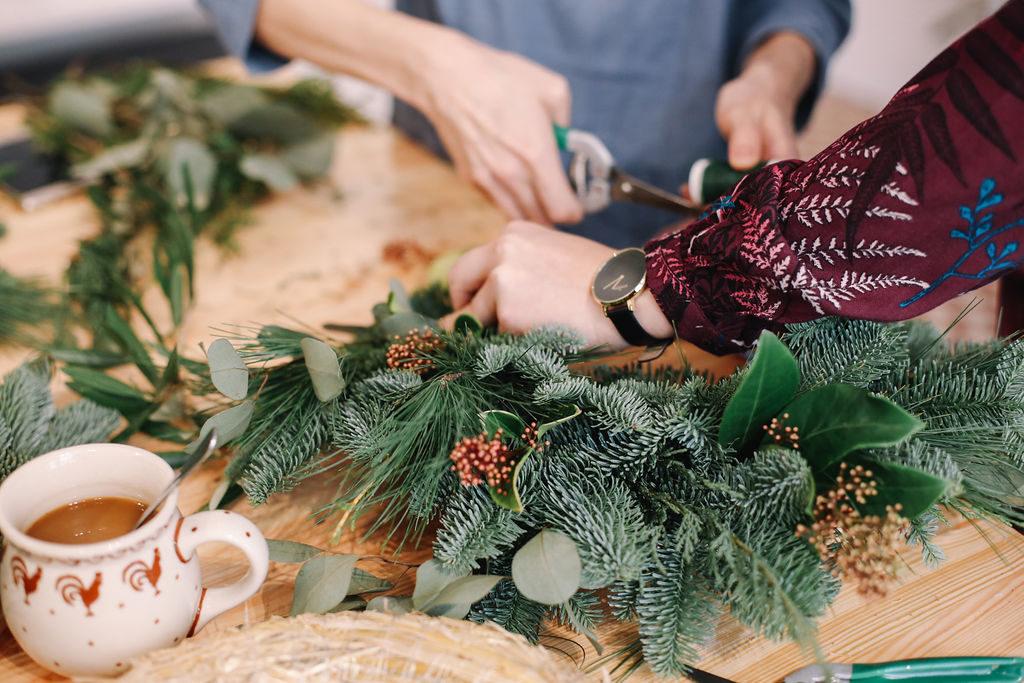 warsztaty wianek świąteczny poznań