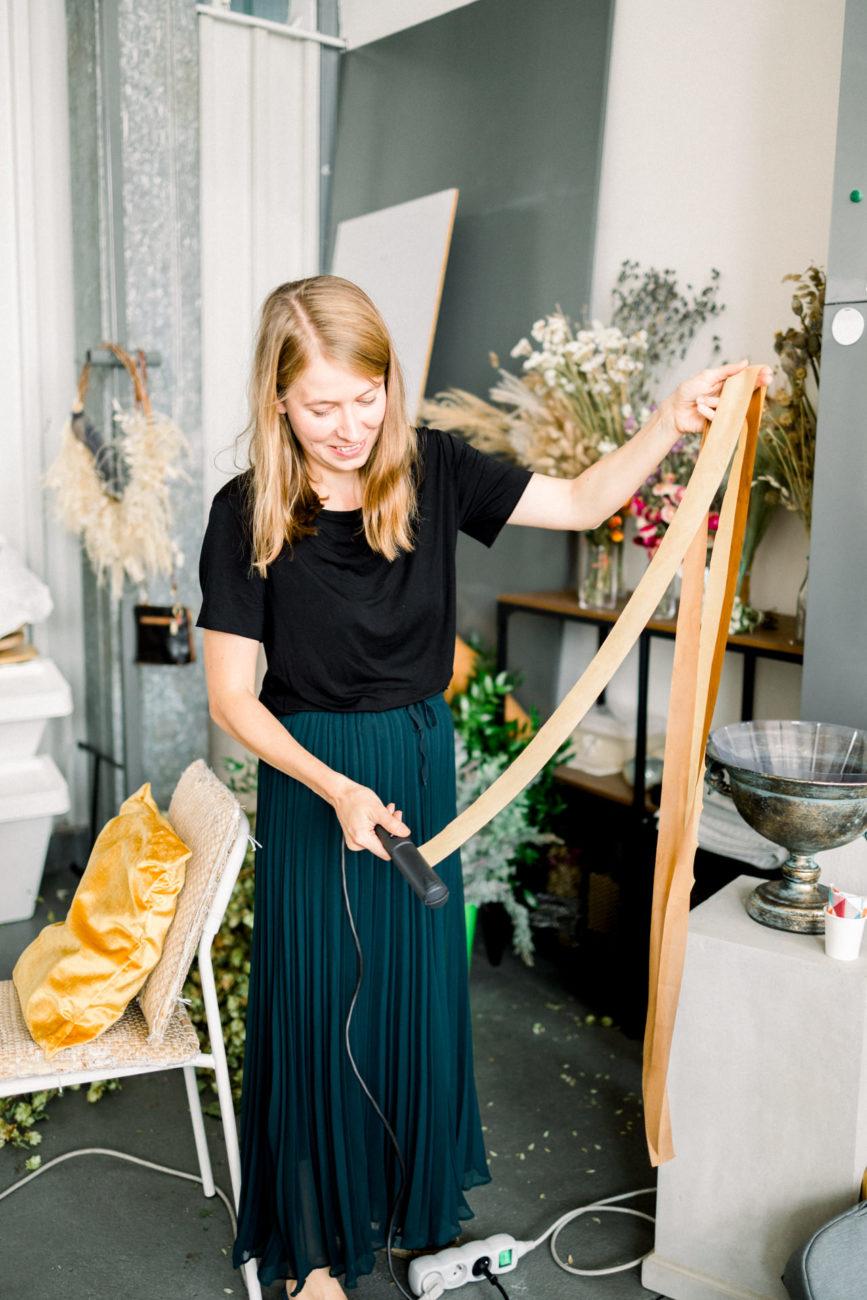narzędzia florystyczne, torba florysty